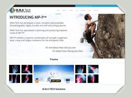 MMA אתר לדוגמה